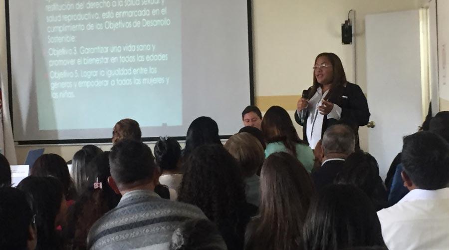 Participación de la Presidenta de FENOE en el foro de Salud del MSP