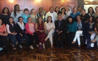 Líderes de FENOE y CEMOPLAF participación en el Taller de BIOÉTICA
